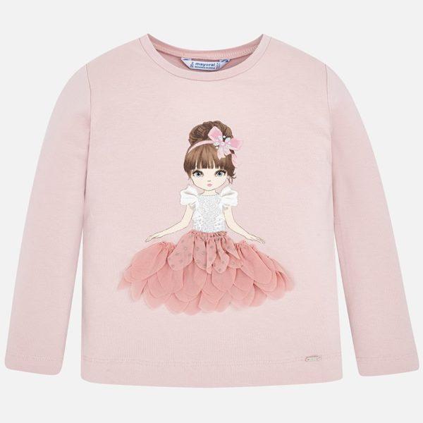 Tričko s dievčatkom Mayoral | Welcomebaby.sk
