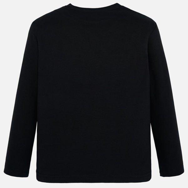 Bavlnené tričko s dlhým rukávom a potlačou raketa Mayoral | Welcomebaby.sk