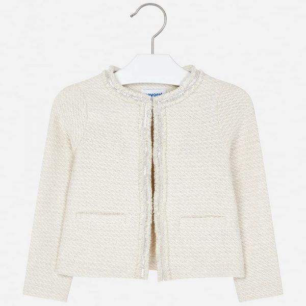 Dievčenská bunda na štýl Chanel | Welcomebaby.sk