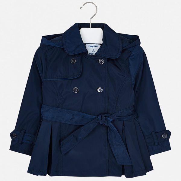 Dievčenský kabát Mayoral modrý | Welcomebaby