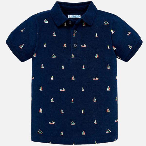 Polo tričko s lodičkami na 8 rokov | Welcomebaby.sk