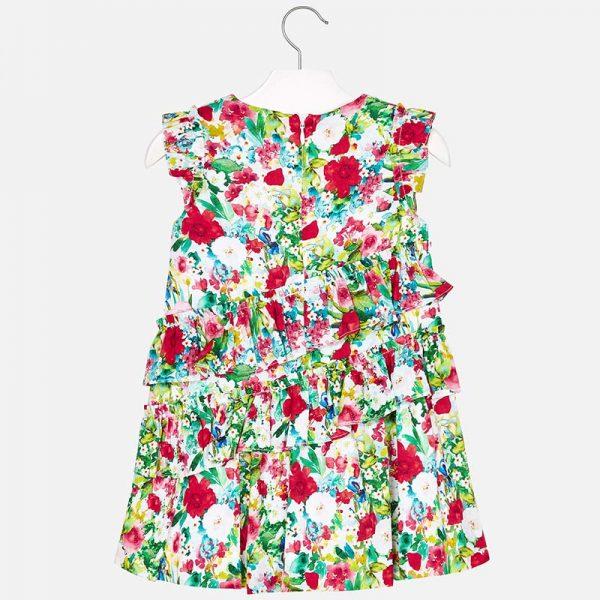 Bavlnené letné šaty s kvetmi Mayoral   Welcomebaby.sk