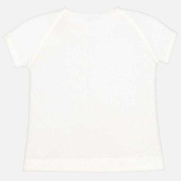 Bavlnené tričko Mayoral s potlačou topánok | Welcomebaby.sk