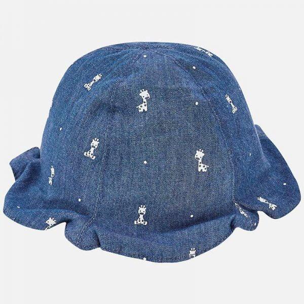 Bavlnený letný klobúčik pre novorodenca Mayoral | Welcomebaby.sk