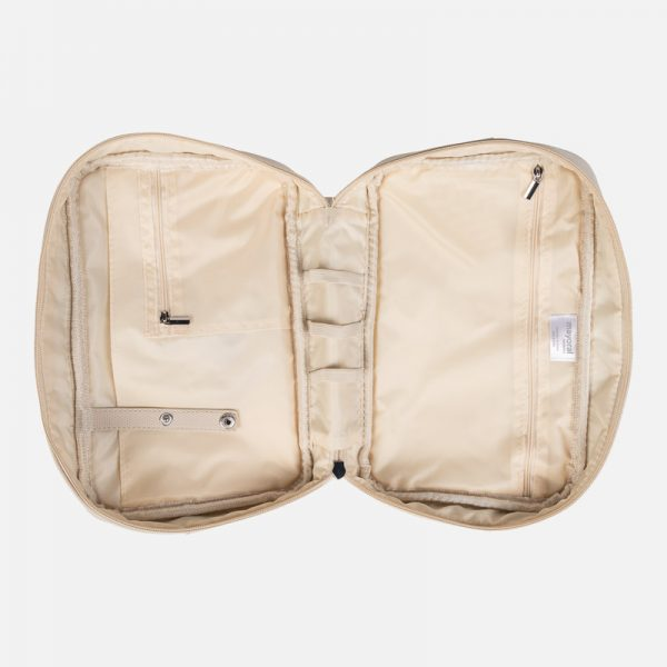 Toaletná taška béžová | Welcomebaby.sk