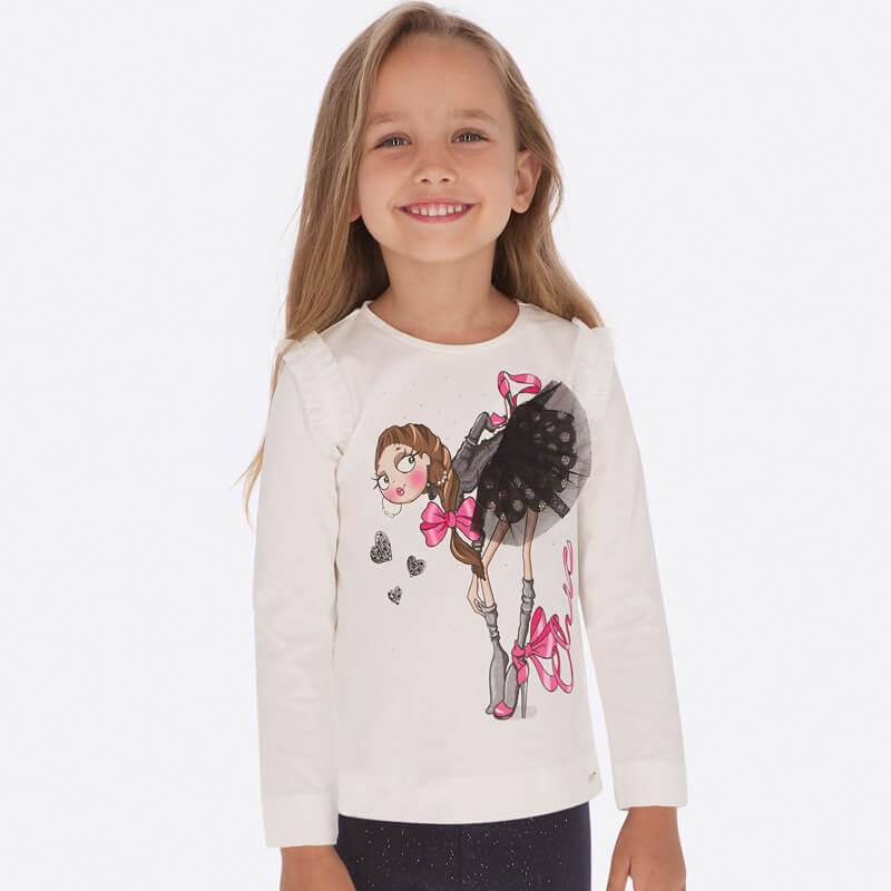 Rozkošné tričká pre malé baletky | Welcome Baby