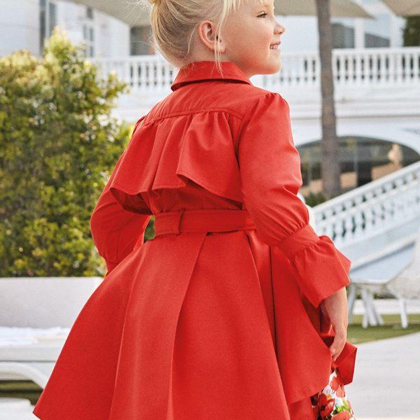 Červený kabátik Abel & Lula | Welcomebaby.sk