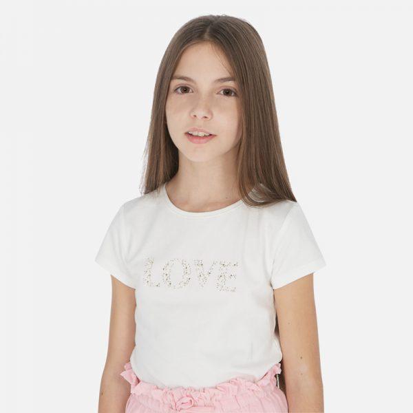 Dievčenské tričko s nápisom Love Mayoral | Welcomebaby.sk