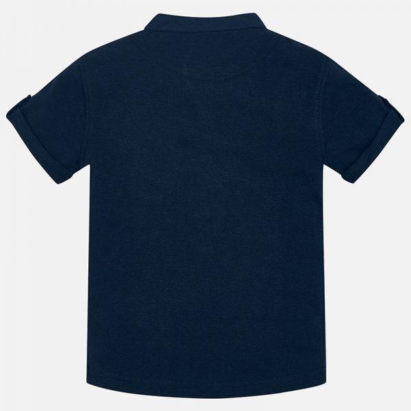 Bavlnené tričko so stojačikom Mayoral | Welcomebaby.sk