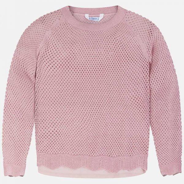 Dierkovaný sveter s tielkom Mayoral | Welcomebaby.sk