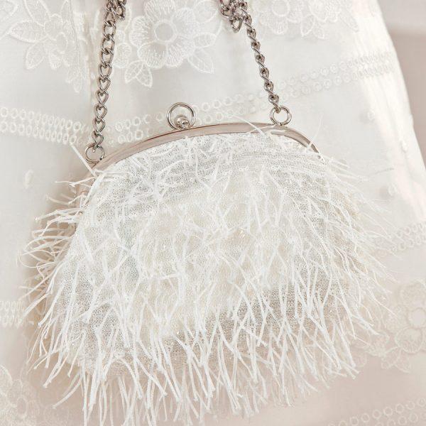 Dievčenská taška so strapcami Abel & Lula | Welcomebaby.sk