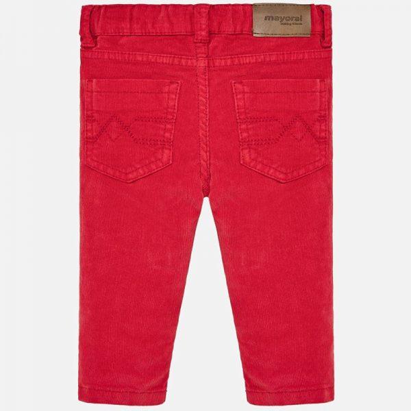 Chlapčenské nohavice Mayoral červené | Welcomebaby.sk