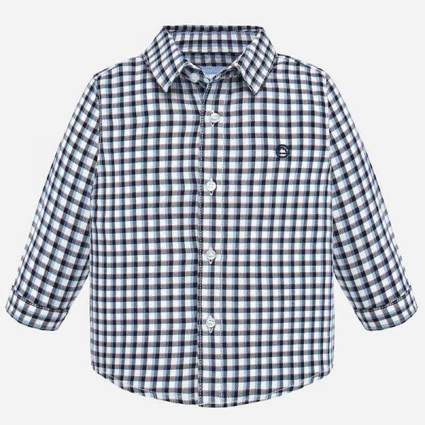 Chlapčenská károvaná košeľa Mayoral | Welcomebaby.sk