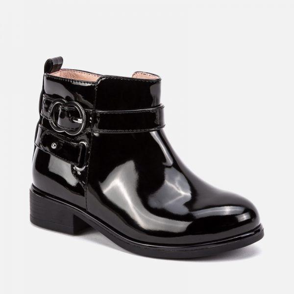 Dievčenské lakované topánky Mayoral čierne | Welcomebaby.sk