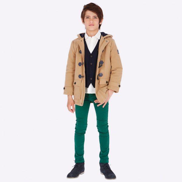 Chlapčenské rifľové nohavice Mayoral zelené | Welcomebaby.sk