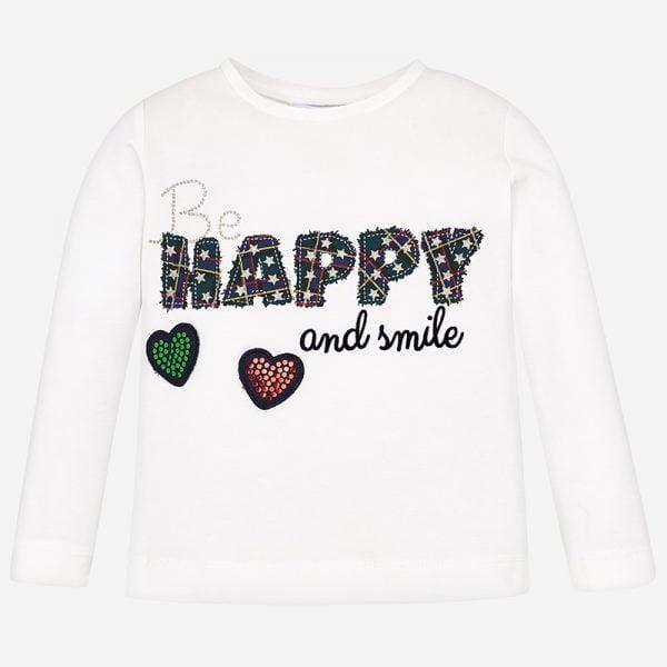 Dievčenské tričko s nápisom Happy Mayoral | Welcomebaby.sk