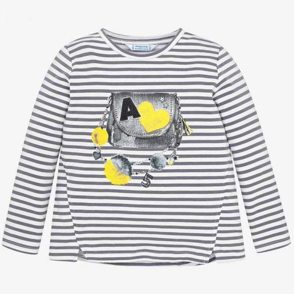 Dievčenské pásikavé tričko Mayoral | Welcomebaby.sk