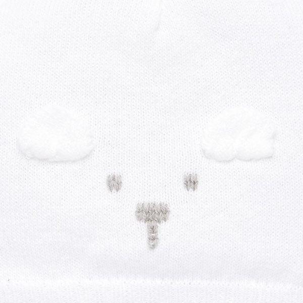 Unisex čiapka, rukavičky a ponožky v darčekovom balení Mayoral biele | Welcomebaby.sk