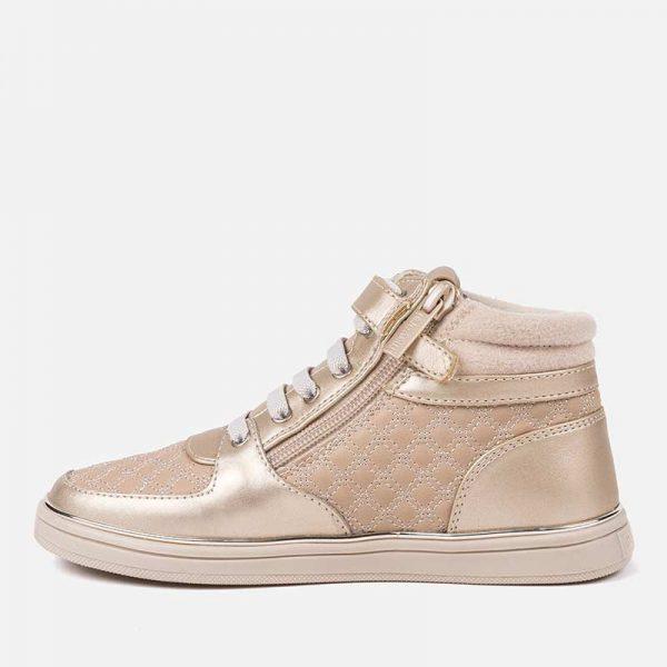 Dievčenské sneakersy Mayoral zlaté | Welcomebaby.sk