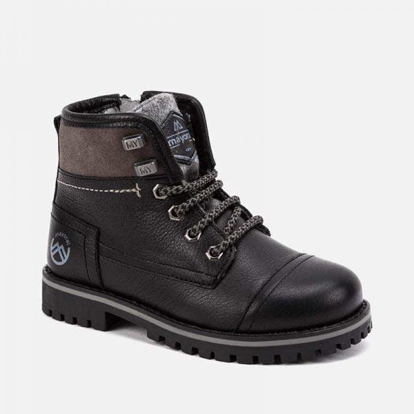 Chlapčenské funkčné kožené topánky Mayoral hnedé | Welcomebaby.sk
