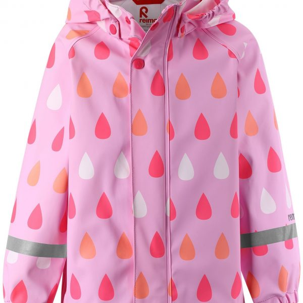 Dievčenská bunda do dažďa REIMA Vesi ružová | Welcomebaby.sk