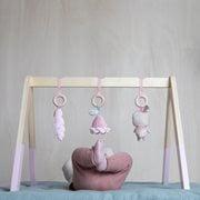 Hrazdička Baby gym Little Dutch ružová | Welcomebaby.sk