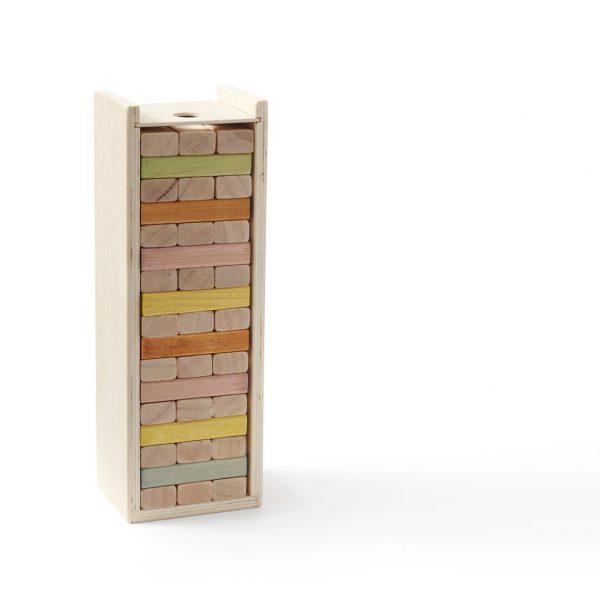 Drevené stavebné kocky pastelové Kid´s Concept | Welcomebaby.sk