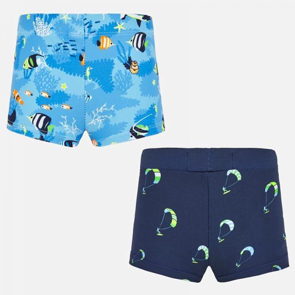 Chlapčenské plavky 2set Mayoral modré | Welcomebaby.sk
