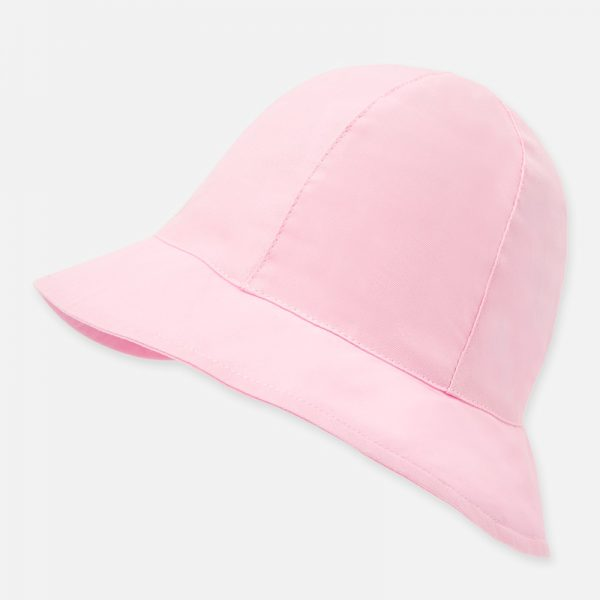 Dievčenský bavlnený klobúčik s mašľou Mayoral ružový | Welcomebaby.sk