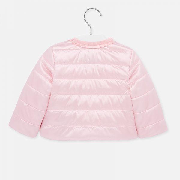 Dievčenská polstrovaná vetrovka Mayoral baby ružová | Welcomebaby.sk