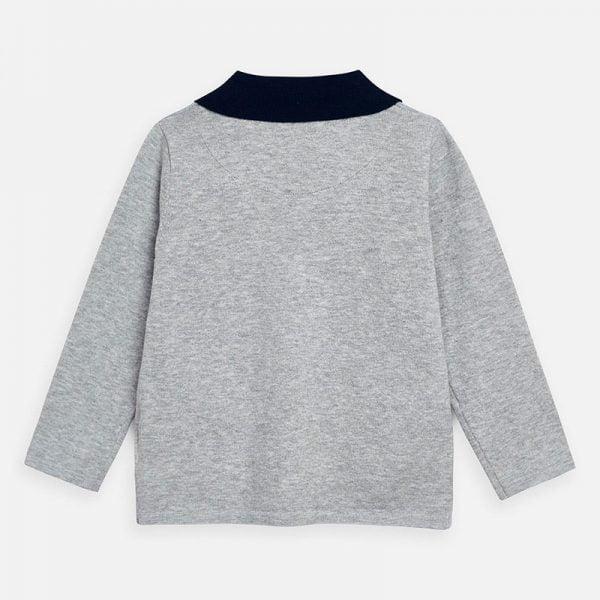 Chlapčenské svetrové sako na gombíky Mayoral sivé | Welcomebaby.sk