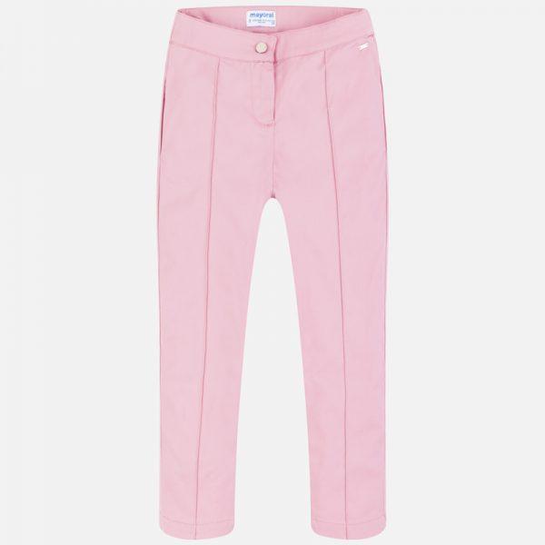 Dievčenské nohavice s prešívaným pukom Mayoral ružové | Welcomebaby.sk