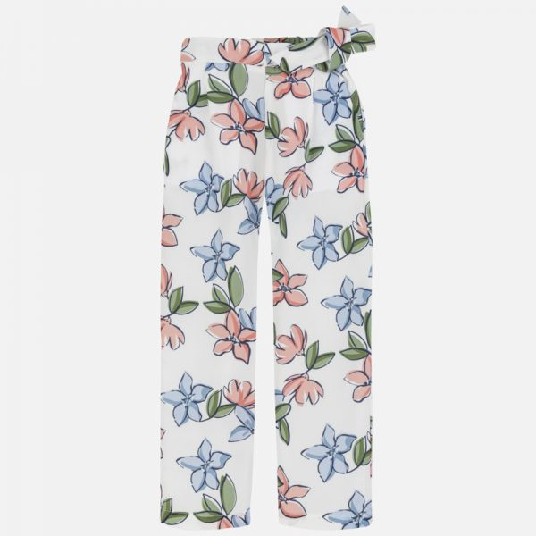 Dievčenské nohavice s kvetmi Mayoral | Welcomebaby.sk