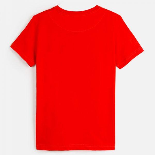 Chlapčenské tričko s krátkym rukávom a nápisom limited edition Mayoral červené | Welcomebaby.sk