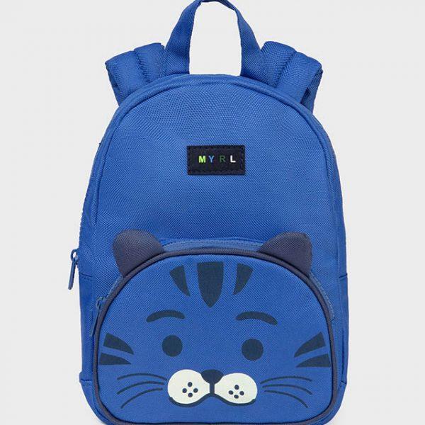 Chlapčenský modrý ruksak so zvieracím motívom Mayoral | Welcomebaby.sk